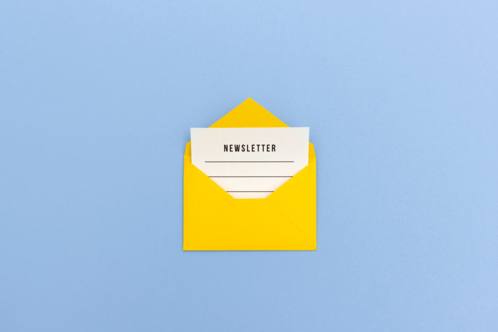 Newsletter Melanie Wolfers